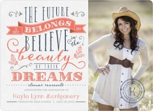 Graduation Invitation Wording Ideas From PurpleTrail