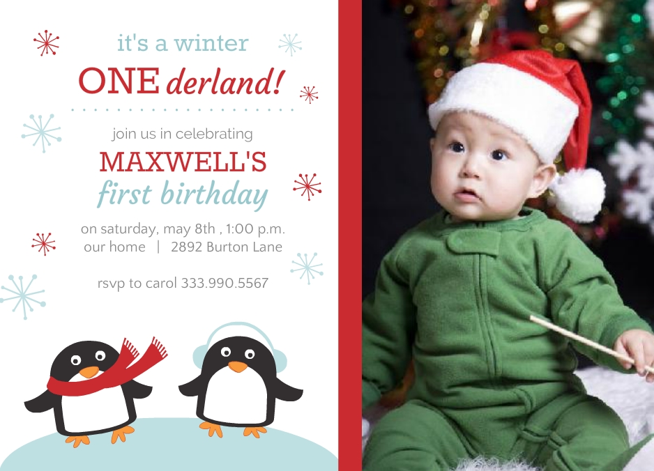 Winter Onederland Birthday Party Ideas: Invitations, Decor, & More