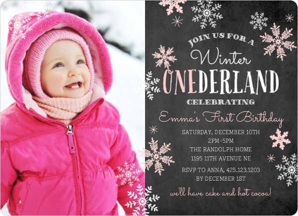 Pink Falling Snowflakes Winter Onederland Birthday 77008 108138 1 Large Rounded