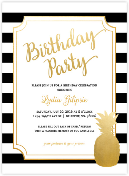 18th Birthday Invitations From PurpleTrail