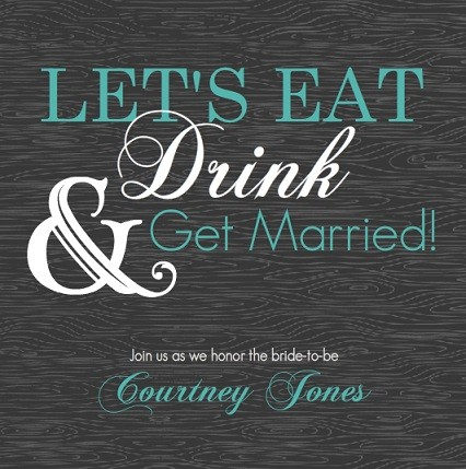 Stock The Bar Bridal Shower Wedding Ideas Tips Wordings