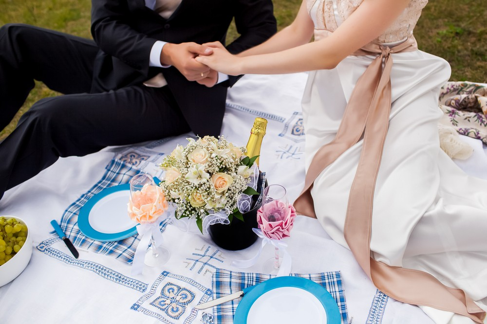 Picnic Wedding Ideas: Beach, Urban, & Backyard Picnic Wedding Ideas