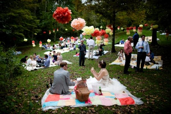 Country Wedding Ideas Barn Tree Farm Orchard Picnic