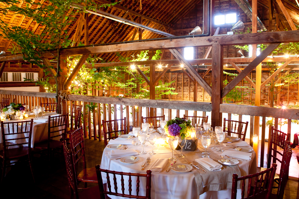 Country wedding ideas barn tree farm orchard picnic themes more wedding table set for a barn wedding junglespirit Images