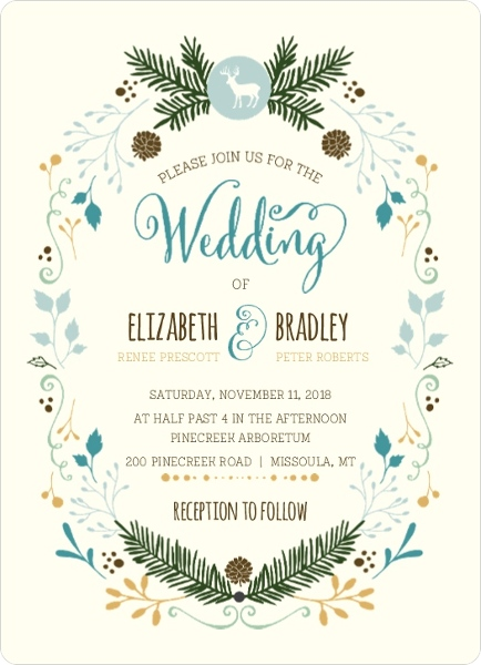 Postcard Wedding Invitations Wording Vintage Beach Rustic Vegas