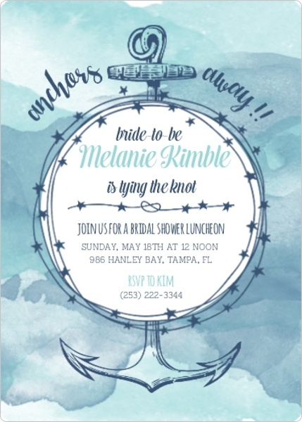 Bridal Shower Themes: Fun, Cute Nautical, Outdoor, & Brunch Ideas