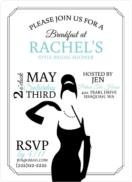 classic breakfast at bridal shower invitation by weddingpaperiecom