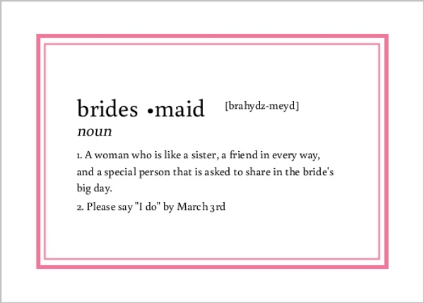 Will You Be My Bridesmaid Ideas, Will You Be My Bridesmaid ...