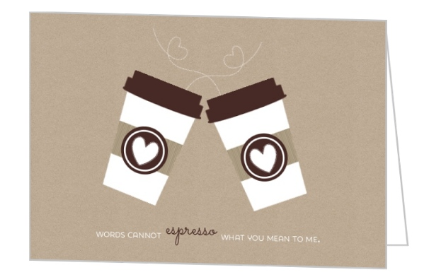 espresso love greeting cards by purpletrailcom coffee themed bridal shower mug decorating party food
