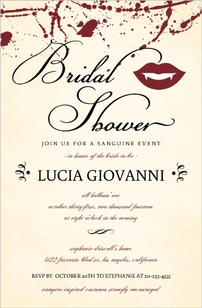 fall bridal shower ideas themes invitations wording favors decor