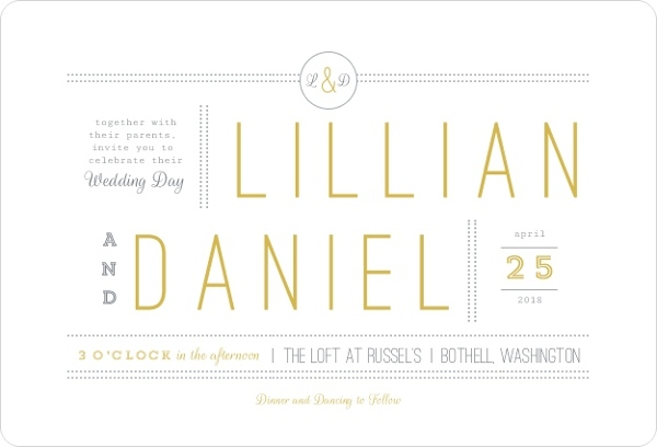creative wedding invitation wording - Modern Wedding Invitation Wording